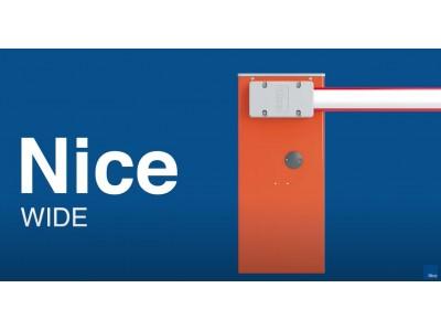 НОВОЕ ВИДЕО НА КАНАЛЕ Nice! Подключение, настройка и программирование шлагбаумов Nice серии WIDE.