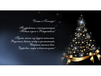 С наступающим Рождеством и Новым 2021 Годом!